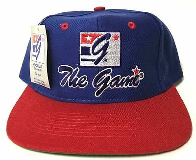 The Game Vintage 90's Snapback Hat Brand New G Headwear (90s Headwear)