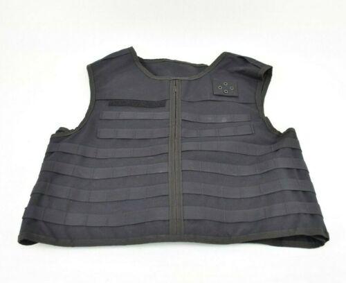 Survival Armor OC/AS Carrier Vest Black Police Size L