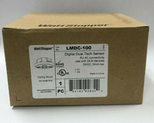 Wattstopper LMDC-100 Occupancy Sensor, Ceiling Mount