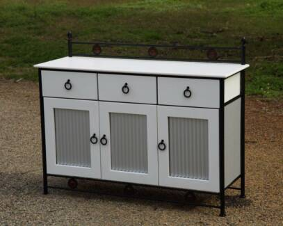 Industrail Look Freedom Upcycled Buffet.Solid Wood-Del.Available