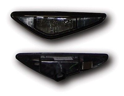 BMW 3 SERIES E46 COUPE & CONVERTIBLE (03/06) BLACK LED SIDE REPEATER INDICATORS