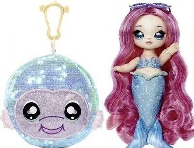 "Na! Na! Na! Surprise Sparkle Series Pom Doll ""Shell"" Mermaid Marina Jewels"