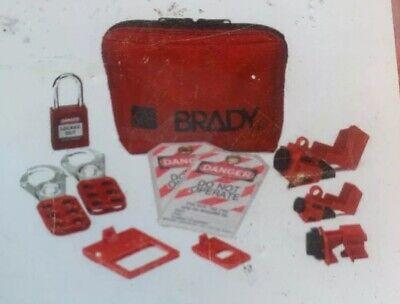 Brady Electricians Personal Lockout Kit 1881775 1 Kit New 120v Clamp On Breaker