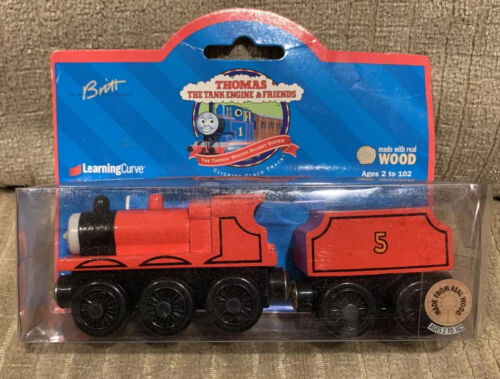 Thomas The Tank Engine Friends Wooden Railway Train James Tender 1998 99005 - $45.00
