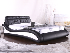Brand new PU leather king / queen designer luxury bed frame. Malaga Swan Area Preview