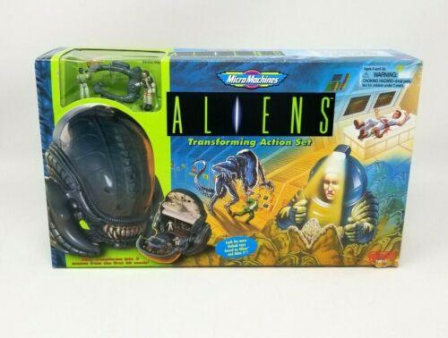 Galoob 1997 Micro Machines Aliens Transforming Action Set Alien Head NRFB (A)