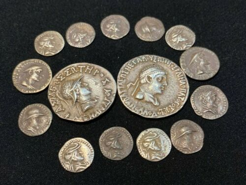 Ancient Greek silver coins