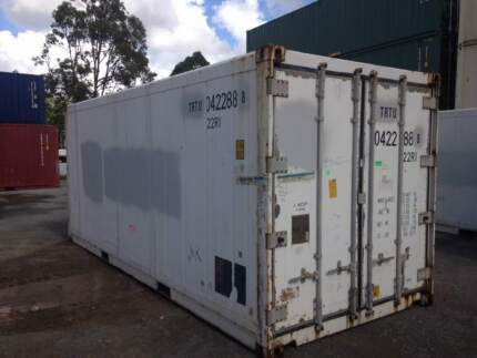 Used 6m Refrigerated Shipping Container - Operational Narangba Caboolture Area Preview