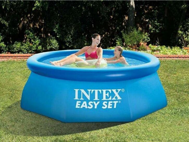 $ 10 Piscina Desmontable Hinchable Intex 244x76cm NUEVO. El estado es Nuevo sin abrir el embalaje original. Palabras clave: Bestway, piscina hinchable, piscina desmontable, piscina jardin... No esta incluida la depuradora