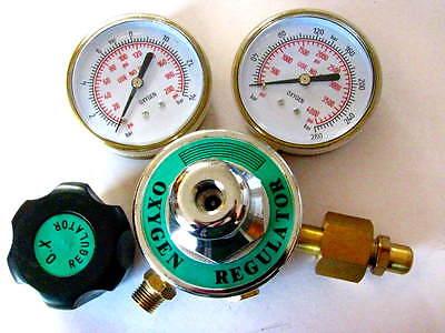 Oxygen Premium Regulator 3 Gauges For Torch Welding Brazing Cutting Medical