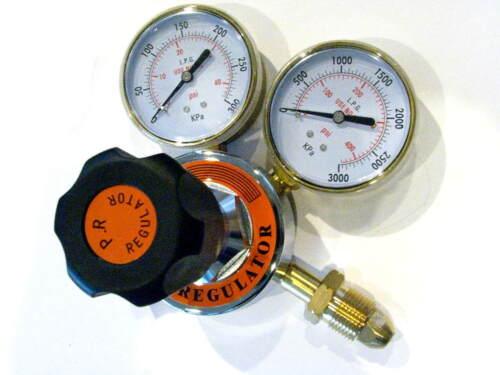"Propane Regulator: Welding Cutting Soldering BBQ or Acetylene Torch, 3"" Gauges"