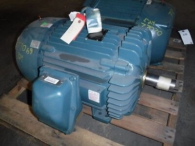 40 Hp Baldor Reliance Electric Motor 1800 Rpm 324t 326t Tefc 460 V Exp New