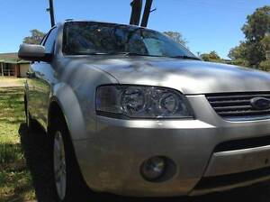 2006 FORD SY TERRITORY AWD 7 SEAT GHIA LOW KM PERFECT COND Bonnells Bay Lake Macquarie Area Preview