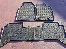 GENUINE Toyota hilux RUBBER FLOOR MATS - full set AS NEW Rooty Hill Blacktown Area Preview