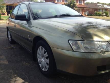 2003 HOLDEN VY COMMODORE AUTO 6 M REGO DUAL FUEL LPG BARGAIN