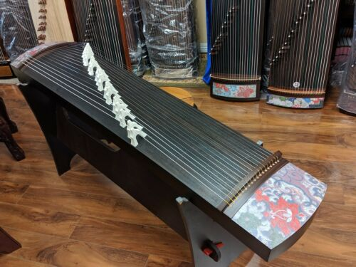 Songbo 18-Steel-Stringed Madagascar Rosewood Guzheng 台灣松柏18弦檀木鋼絲箏
