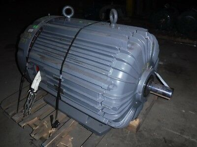 75/37.5 HP Delco Electric Motor, 1710/835 RPM, L507S Frame, TEFC, 460 V, Des. D