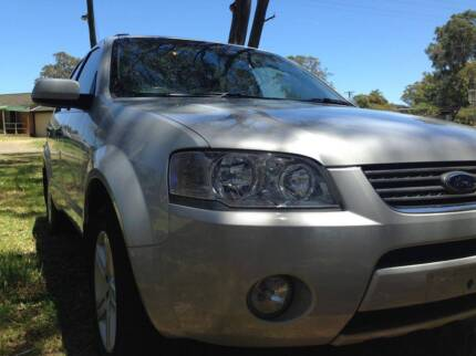 2006 FORD SY TERRITORY GHIA AWD 6SPD 7 SEATER BOOKS LOW KM