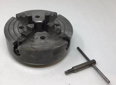 Atlas Craftsman 9 10 12 Metal Lathe 8 4 Jaw Chuck 1 12 X 8 Tpi Southbend