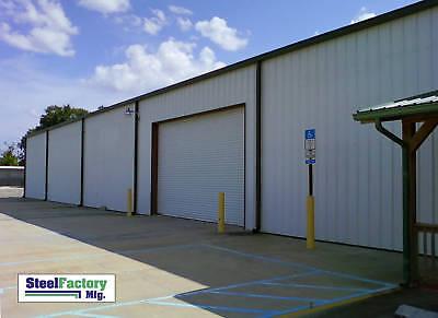 Steel Factory Mfg 30x60x16 Galvanized Metal Frame Storage Garage Building Kit