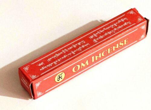 "Om Incense Sticks Tibetan (20 Sticks Per Pack, 5.5"" sticks)"