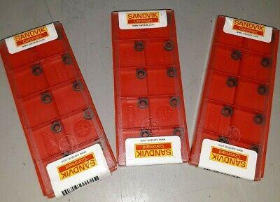 Lot Of 30 Sandvik Coromant Rcmt 06 02 00 Carbide Milling Inserts H13a Grade