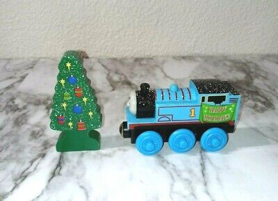 Authentic Thomas & Friends Magnetic Wooden Train Car Holidays Christmas Tree #14