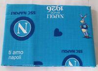 Copriletto Ssc Napoli In Piquet Di Cotone Singolo 170x260 Cm. A290 -  - ebay.it
