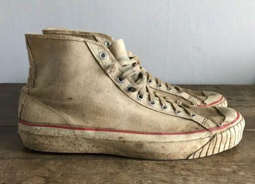 Vintage 1960s Mens Keds High Tops Sneakers