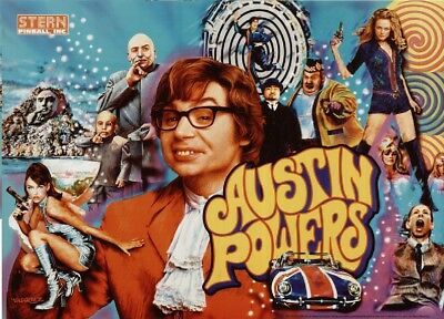 AUSTIN POWERS Complete LED Lighting Kit custom SUPER BRIGHT PINBALL LED KIT
