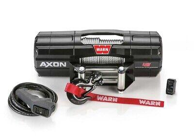 NEW WARN AXON 4500LB WINCH AXON-45 WIRE ROPE WINCH FOR UTV'S 101145