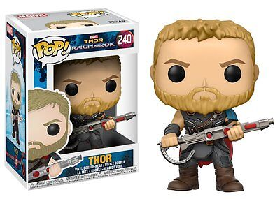 Funko Pop! Marvel: Thor Ragnarok Thor Gladiator Suit 240 13763 (Thor Suits)