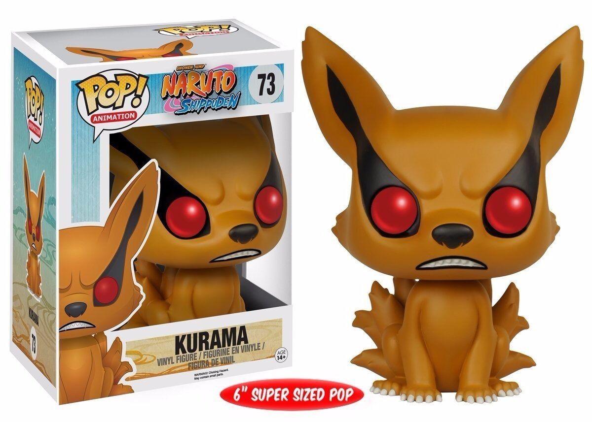 """Funko POP Anime: Naruto Kurama 6"""" Action Figure"""