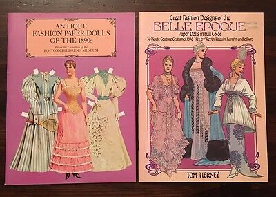 Great Fashion Designs of the Belle Epoque and Antique 1890s  by Tom Tierney