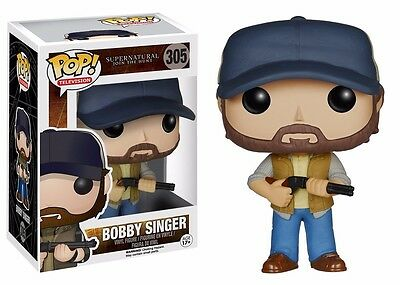 Funko Pop! TV: Supernatural Bobby Singer Action Figure