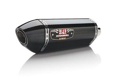 (Street R77 Carbon Fiber Slip On Exhaust Yoshimura 1500120220 13-16 BMW R1200GS)