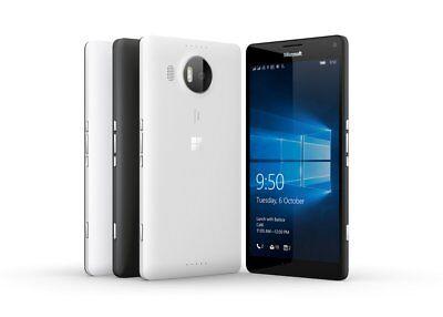 """Neu Ungeöffnet Microsoft Nokia Lumia 950 5.2"""" 4G LTE Smartphone/Schwarz/32GB"""