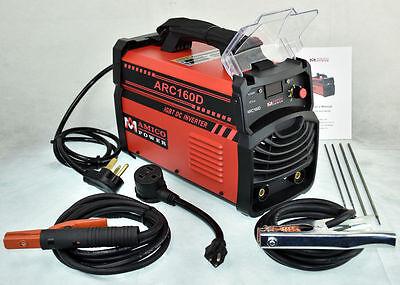 Arc-160d 160 Amp Stick Arc Mma Dc Inverter Welder 110230 Dual Voltage Welding