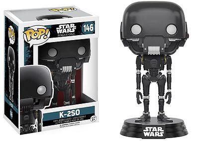 Funko Pop Star Wars Rogue One K 2So Bobble Head Vinyl Figure Toy  146