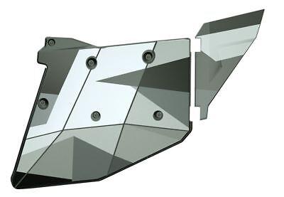 Polaris RZR XP4 Aluminum Door Graphics - White Pearl 4-seater Models - 2884192