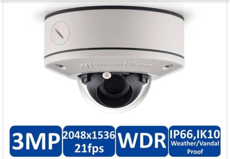 Arecont AV3555DN-S-APZ 3MP WDR 31FPS, H.264, Casino, 4MM Lens G2