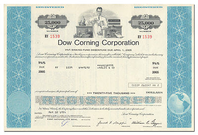 Dow Corning Corporation Bond Certificate