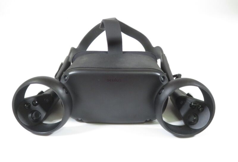 Oculus Quest MH-B 64GB All-In-One Virtual Reality Headset w/ (2) Controllers