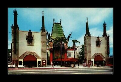 DR JIM STAMPS US GRAUMANS CHINESE THEATRE HOLLYWOOD CALIFORNIA VIEW POSTCARD
