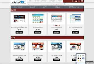 Website Selling Business 100 Autopilot Free Installation Hosting