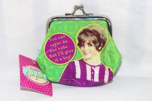 Secret-Santa-5-Xmas-Stocking-Gift-Vtg-Retro-PVC-Coin-Purse-never-too-cute-NEW