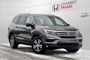 2017 Honda Pilot EX-L*RES*AWD*DVD*CUIR*8 PLACES