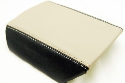 Center Console Armrest Synthetic Leather Cover for Camaro 10-15 Beige and Black Beige Cam Cover