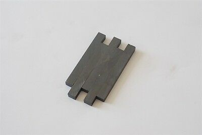 Lot Of 5x Ceramic Bar Rectangular Magnet 3.8 X .312 X .438 Ferrite 96x8x11mm