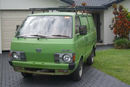 Vintage Collectable Rare 1981 Datsun C20 Van